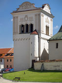 Bell tower in Spisska Sobota, Slovakia — Stock Photo