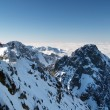 Winter outlook from Lomnicky Peak — Stock Photo #29633177