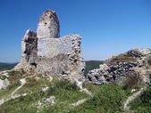 Ruins of The Castle of Cachtice, Slovakia — Stock Photo