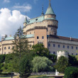 Towers of Bojnice castle, Slovakia — Stock Photo