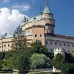 Towers of Bojnice castle, Slovakia — Stock Photo