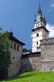 Fortification of the Castle of Kremnica — Stock Photo