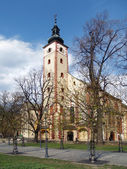 Church of The Assumption in Banska Bystrica — Stock Photo