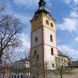 Tower of City Castle in Banska Bystrica — Stock Photo