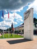 Памятник освобождения в Долны Кубине — Стоковое фото