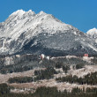 High Tatras massif in winter — Stock Photo #30287581