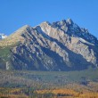 Massive peaks of High Tatras in autumn — Stock Photo
