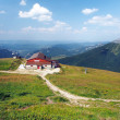 Outlook from Chleb mountain, Slovakia — Stock Photo