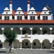Stock Photo: Unique town hall in Levoca, Slovakia