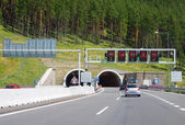 Entrance to Borik tunnel, Slovakia — Stock Photo