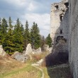 Ruins of Lietava Castle, Slovakia — Stock Photo