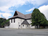 Church in Kezmarok, UNESCO Heritage — Stock Photo