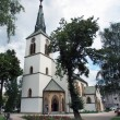 Roman-Catholic church in Dolny Kubin — Stock Photo