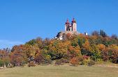 Calvary on Ostry vrch, Banska Stiavnica — Stock Photo