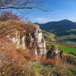 Autumn outlook from Tupa Skala, Slovakia — Stock Photo