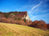 Autumn at Ostra Skala locality, Slovakia — Stock Photo