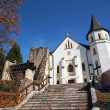 Stock Photo: Roman-Catholic Church in Mosovce, Slovakia