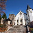 Roman-Catholic Church in Mosovce, Slovakia — Stock Photo