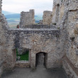 Stock Photo: Ruined interior of Spis castle, Slovakia