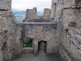 Ruined interior of Spis castle, Slovakia — Stock Photo