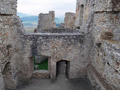 Ruined interior of Spis castle, Slovakia — Stock Photo