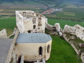 Palace and chapel at Spis castle — Stock Photo