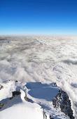 Above Lomnicke sedlo, High Tatras, Slovakia — Stock Photo