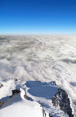 Above Lomnicke sedlo, High Tatras, Slovakia — Stok fotoğraf