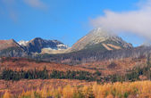 High Tatras in autumn, Slovakia — Stock Photo