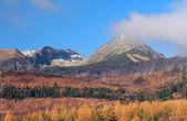 High Tatras in autumn, Slovakia — Stock Photo