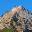 Peak of Predne Solisko in autumn — Stock Photo