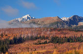 Krivan, High Tatras in autumn, Slovakia — Stock Photo