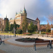Bojnice castle and park, Slovakia — Stock Photo