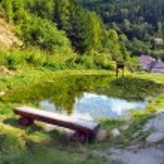������, ������: Mining watercourse landmark Spania Dolina