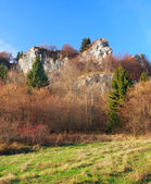 Autumn rocks at Tupa Skala, Slovakia — Stock Photo