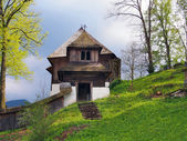 A rare church in Lestiny, Orava, Slovakia — Stock Photo