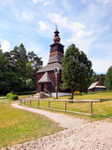A wooden church in Stara Lubovna, Slovakia — Stock Photo