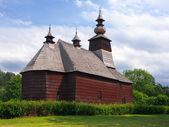 A rare church in Stara Lubovna, Spis, Slovakia — Stock Photo