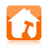 Home renovation icon — Stock Photo