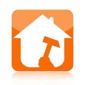 Home renovation icon — Stock Photo