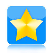 Star icon — Stock Photo