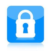 Lock icon — Stock Photo