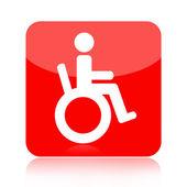 Icona di handicap — Foto Stock