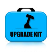 Upgrade Kit — Stock Photo