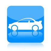 Araba simgesi — Stok fotoğraf