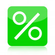 Percent icon - Stock Photo