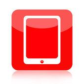 Pictogram van tablet pc-computer — Stockfoto