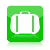 Suitcase icon — Stock Photo