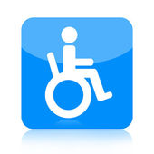 Disabled icon — Stock Photo