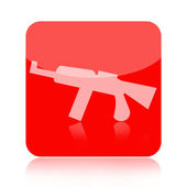 Rifle icon — Stock Photo